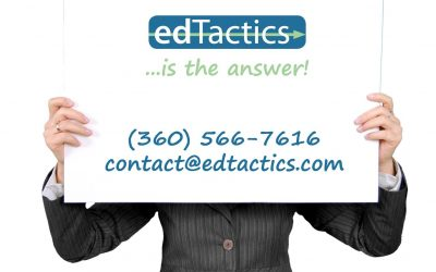 Whatever your K-12 question, edTactics is the answer!